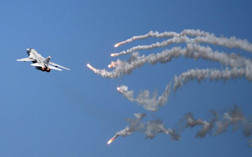 Po krótkim zaciszu nad morzem Bałtyckim 11 rosyjskich samolotów wojskowych