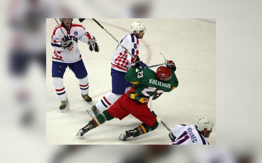 Вторая победа Литвы на ЧМ по хоккею