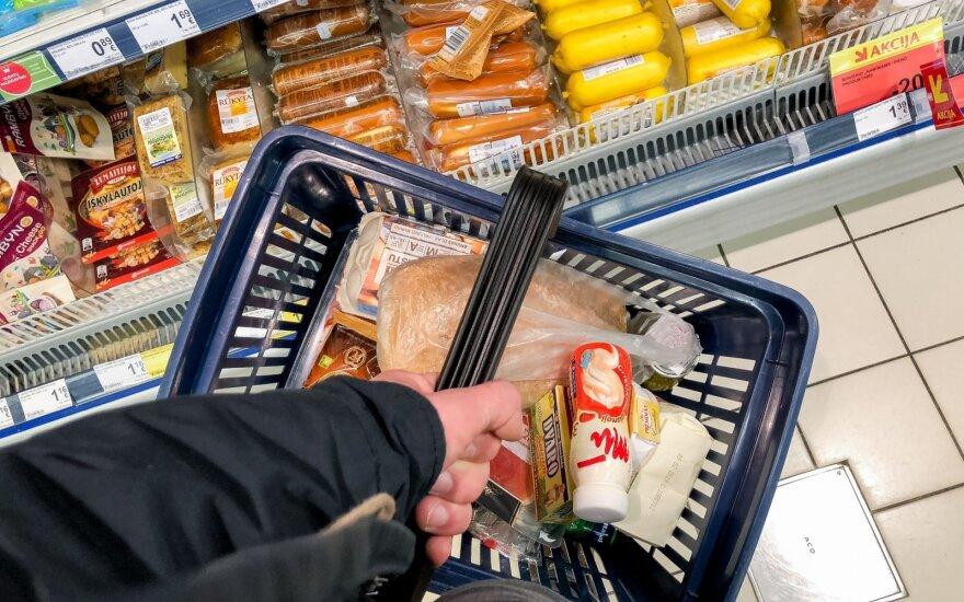 Евростат: цены на продукты питания в Литве – одни из самых низких в ЕС