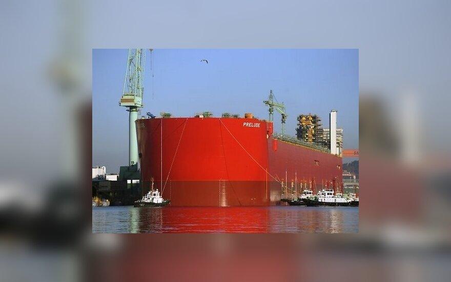 В Южной Корее строят крупнейшее в мире судно