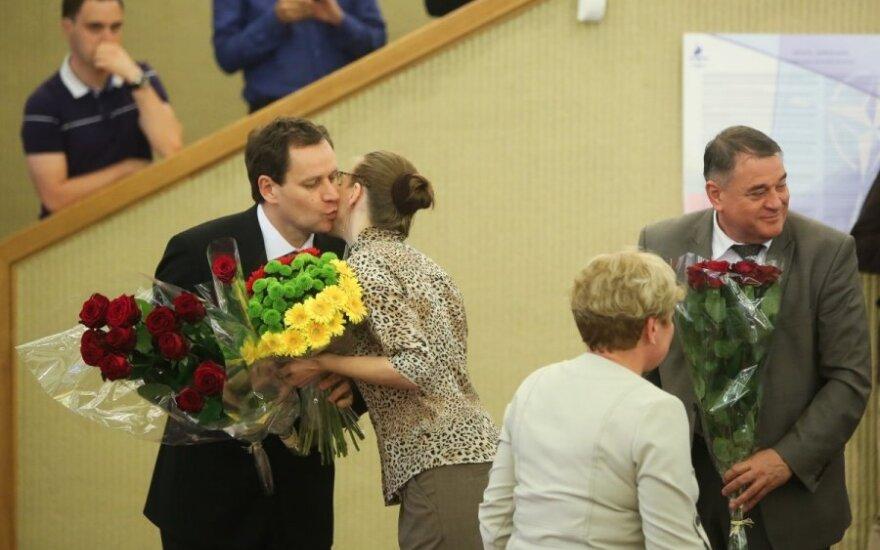 Waldemar Tomaszewski został Honorowym Obywatelem Rejonu Wileńskiego
