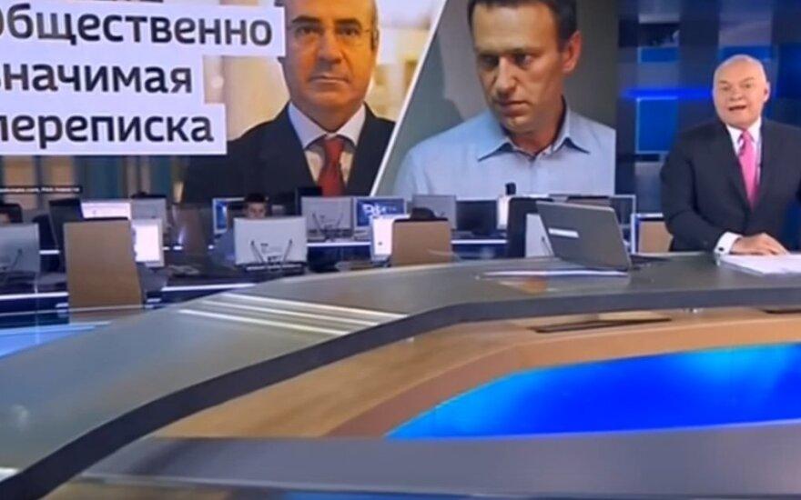 Мосгорсуд признал законным отклонение иска Навального к ВГТРК