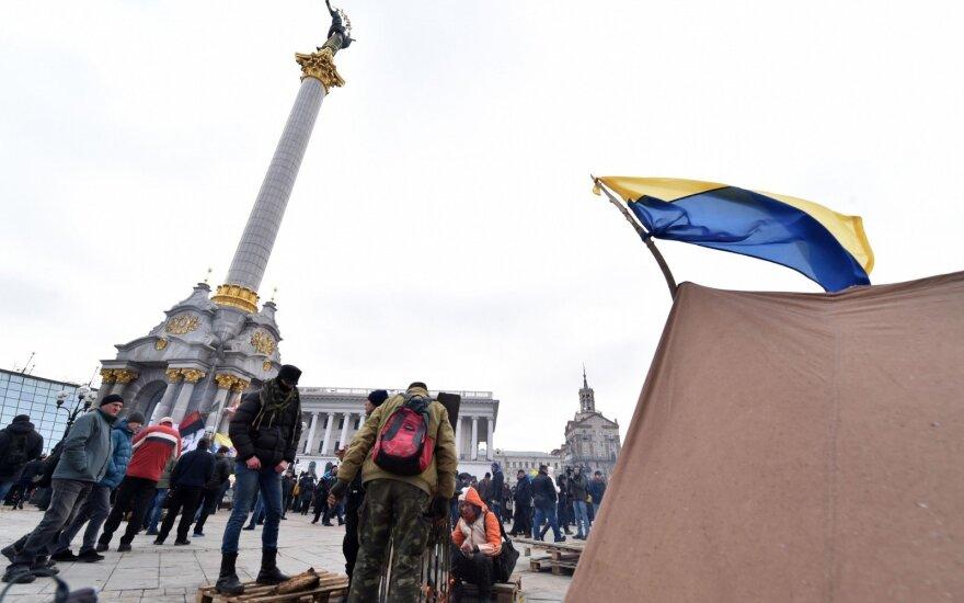 В Минобороны Украины сообщили о переговорах с митингующими на Майдане