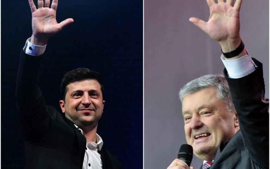 Volodimyras Zelenskis, Petro Porošenka