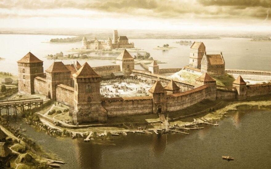 Литовские замки времен ВКЛ восстановили с помощью компьютера