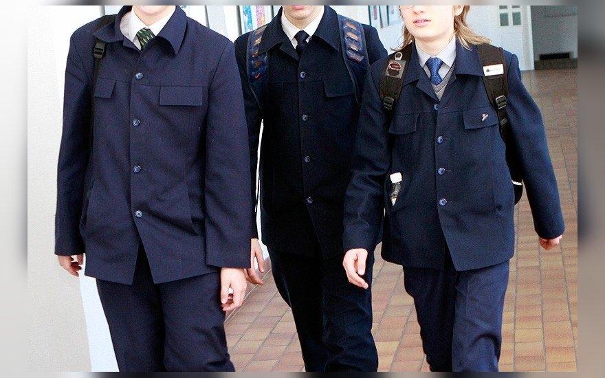 Vilniaus Jėzuitų gimnazijos moksleivių uniformos