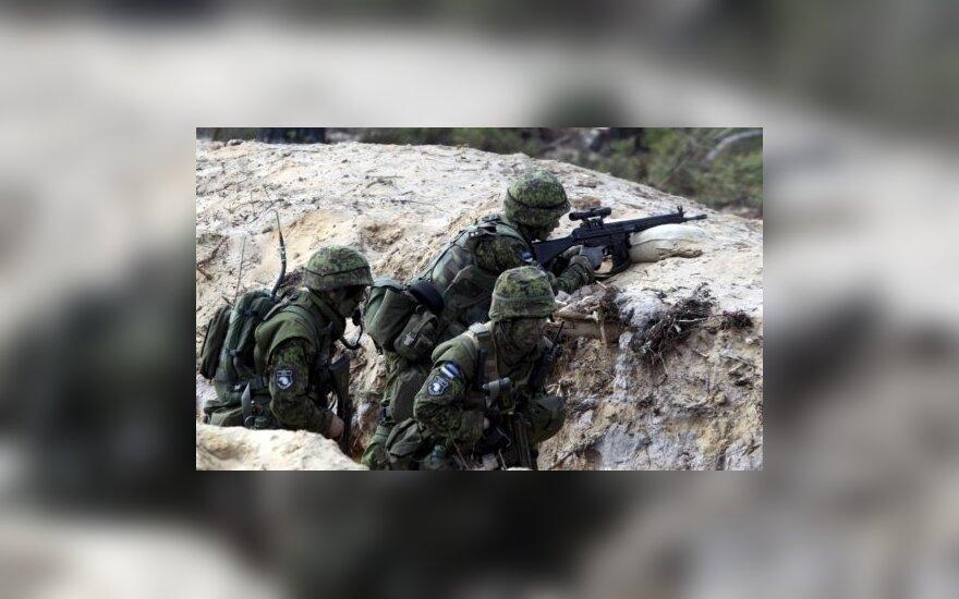 """13 000 солдат, 19 стран: в Эстонии начались крупнейшие военные учения """"Ёж-2018"""""""