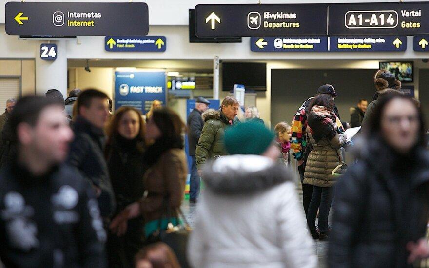 Опрос: в каких районах Литвы больше всего боятся эмиграции