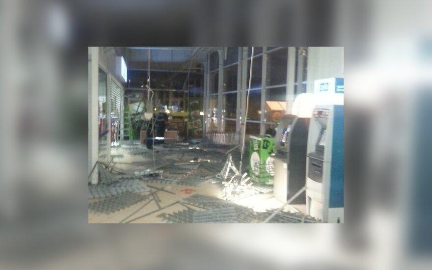 Латвия: в магазине Maxima обвалились подвесные потолки