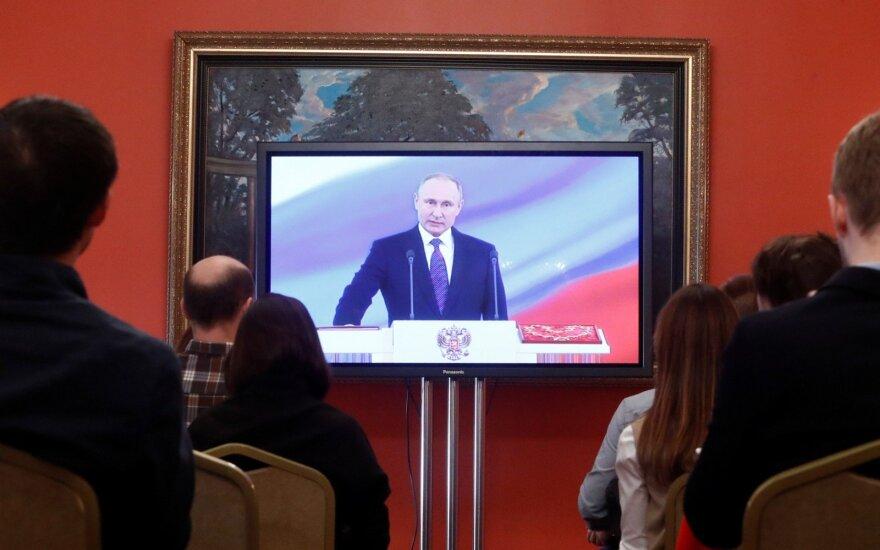 Литва отправила на инаугурацию Путина временного поверенного в делах посольства