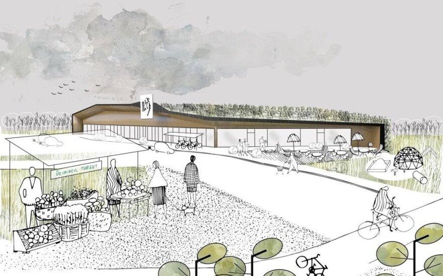 В Вильнюсе планируется новый торговый центр