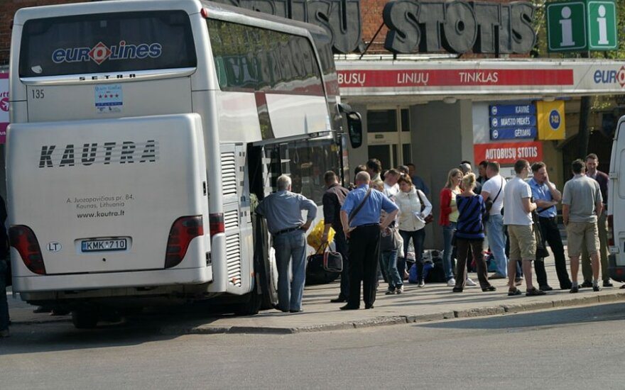Реконструкцию каунасского автовокзала планируют завершить до Рождества