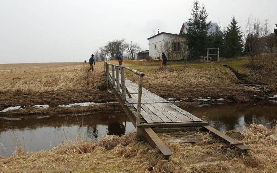 В Паневежском районе обнаружены останки пропавшего в январе ребенка
