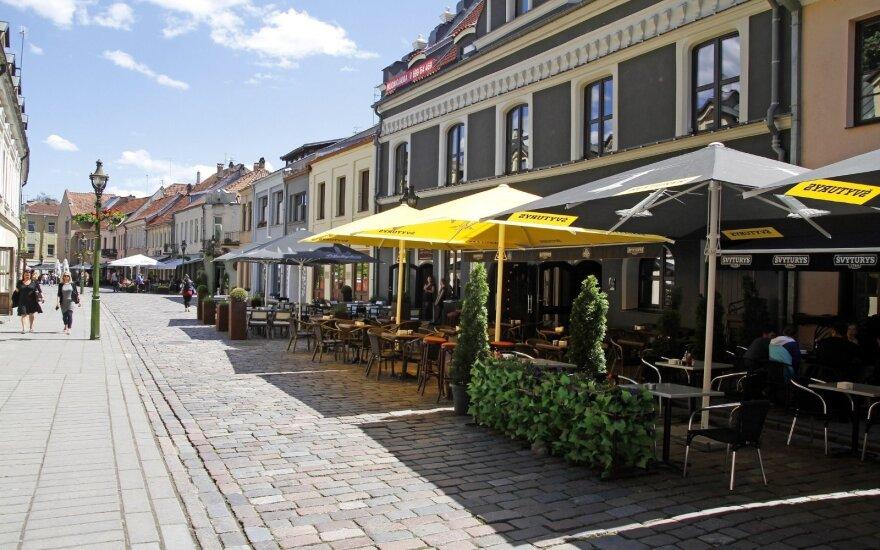 Lauko kavinės Kaune
