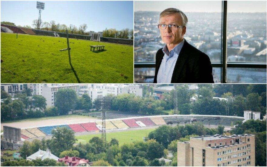 """Планы Авулиса: что будет со стадионом """"Жальгирис"""""""