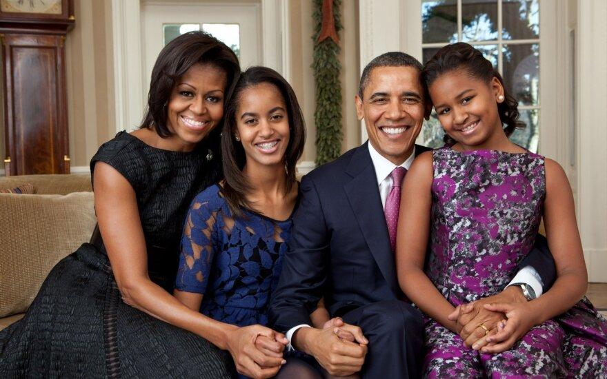Дочь Обамы устроилась на работу в голливудскую кинокомпанию