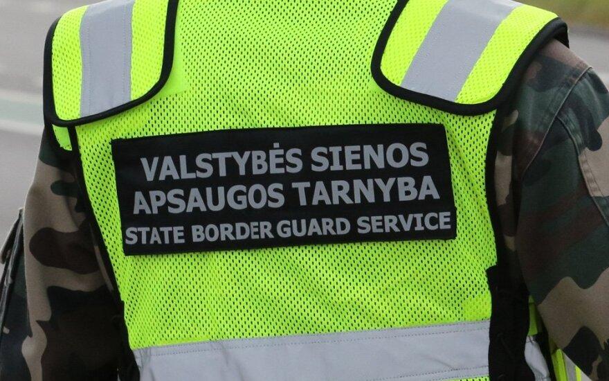 В Вильнюсе за рулем автомобиля задержан нетрезвый пограничник