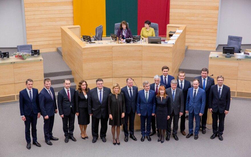 Присягнуло семнадцатое правительство Литвы