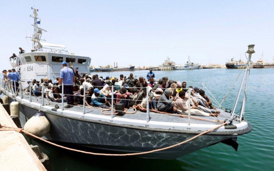 Libijos pakrančių apsaugos tarnyba išgelbėjo 65 migrantus