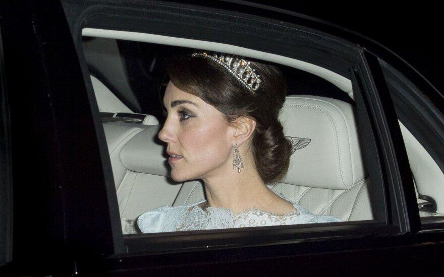 Кейт Миддлтон впервые надела знаменитую тиару принцессы Дианы
