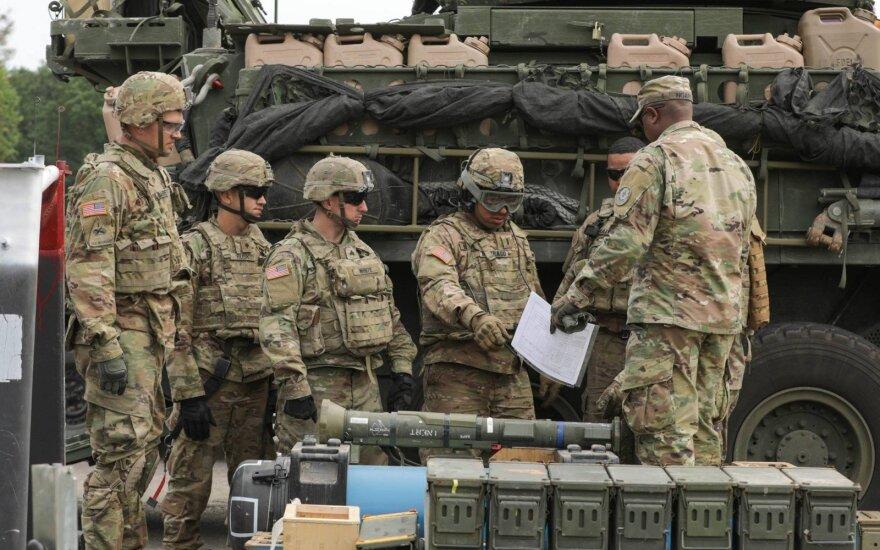 В Литве завершились крупнейшие военные учения