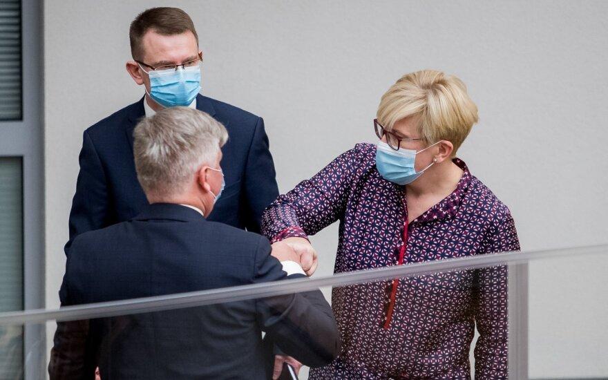 Arūnas Dulkys, Ingrida Šimonytė, Kęstutis Navickas