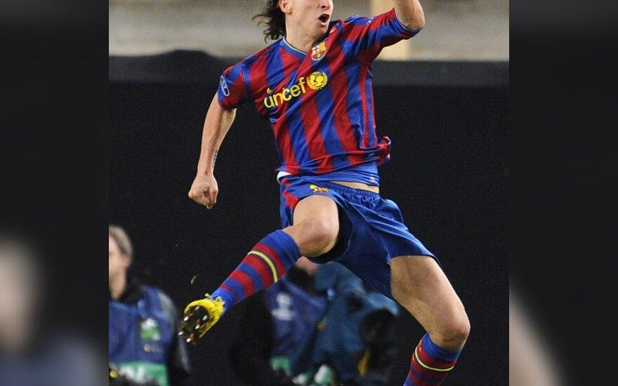 """Zlatanas Ibrahimovičius (""""Barcelona"""")"""