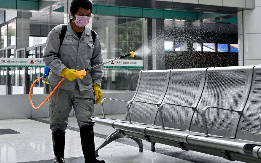 """Из-за вспышки коронавируса Китай и Литва будут обмениваться информацией по """"горячей линии"""""""