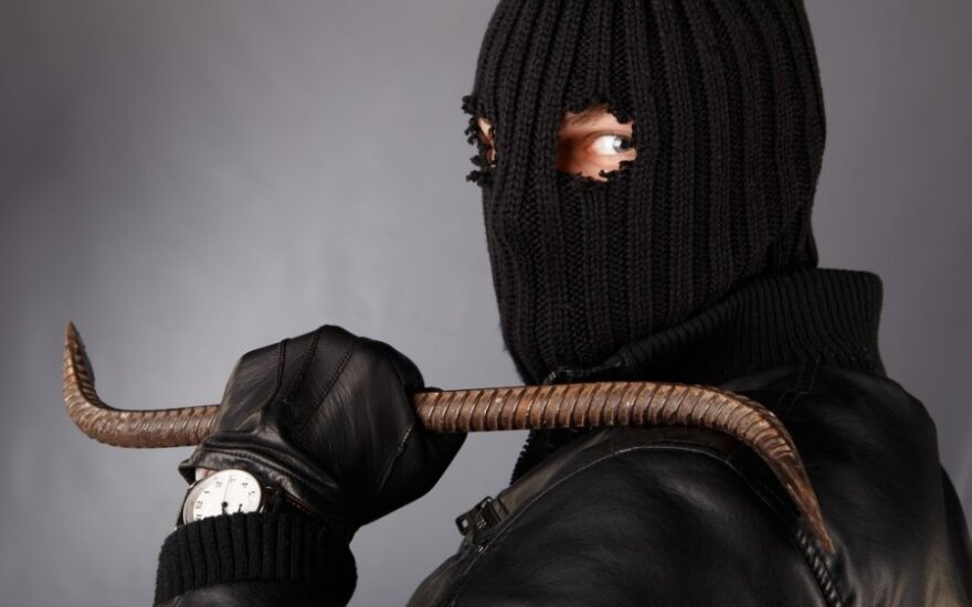 В Вильнюсе украден сейф с 200 000 евро