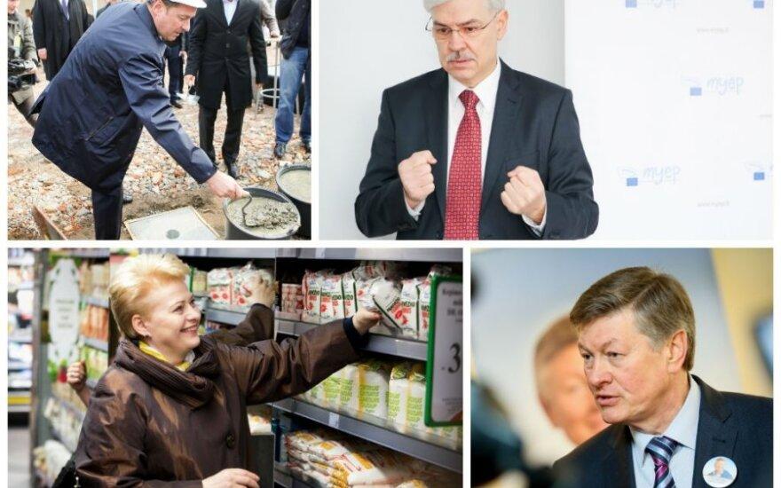 Участники президентской кампании собрали 3 млн. литов