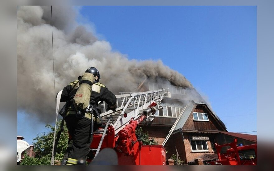 Пожар в доме престарелых в Красноярске: число погибших возросло