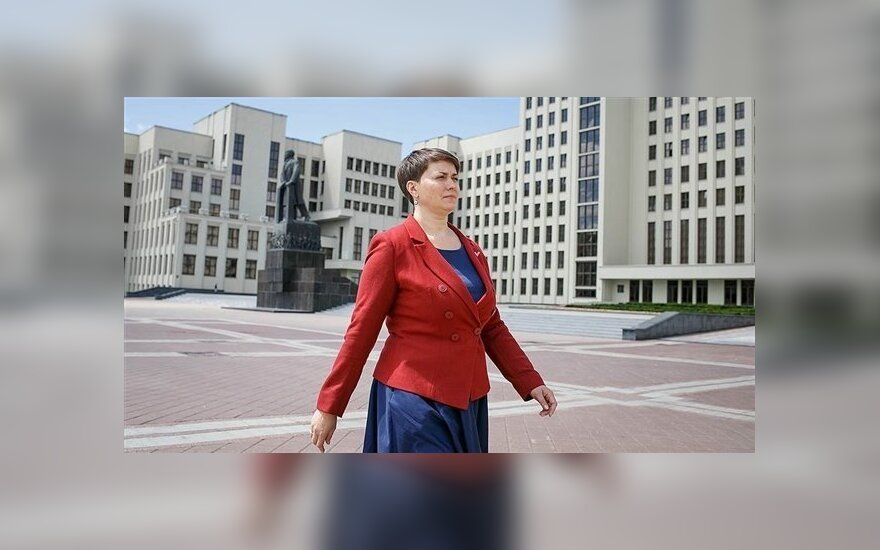 Кандидат в президенты Беларуси: я - единственная демократическая альтернатива