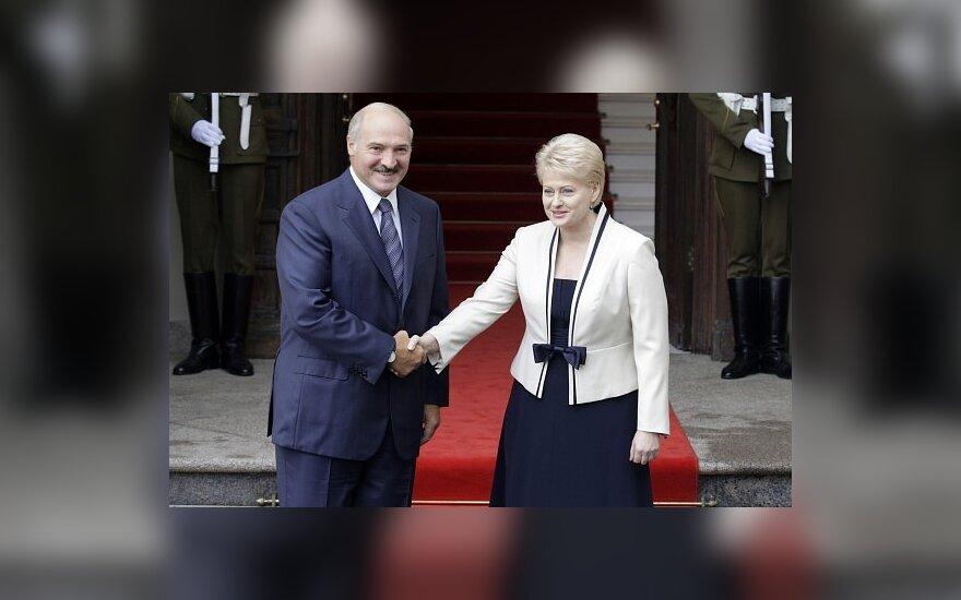 Грибаускайте пригласила Лукашенко на празднование 11 марта