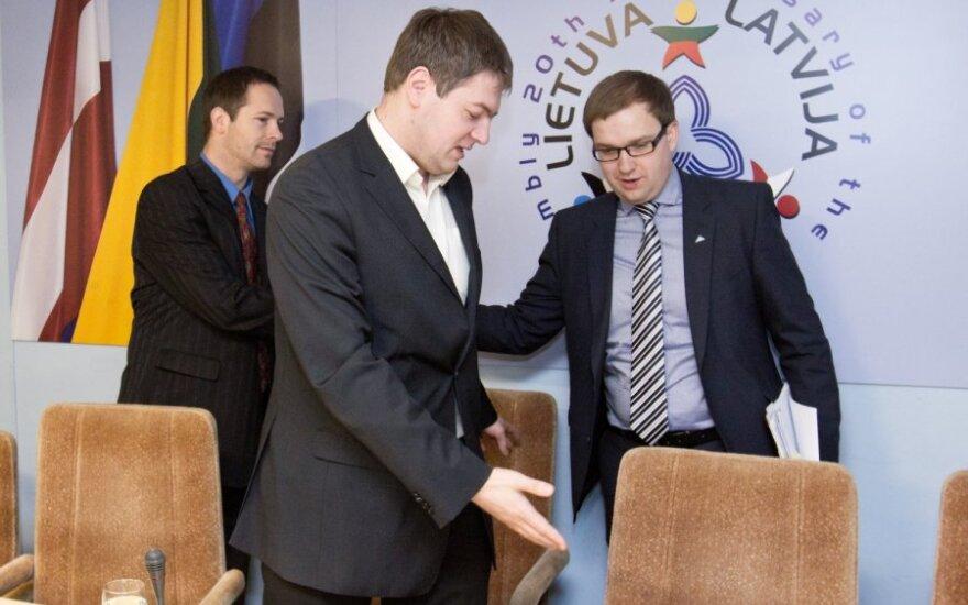 Andrius Mazuronis ir Vytautas Gapšys