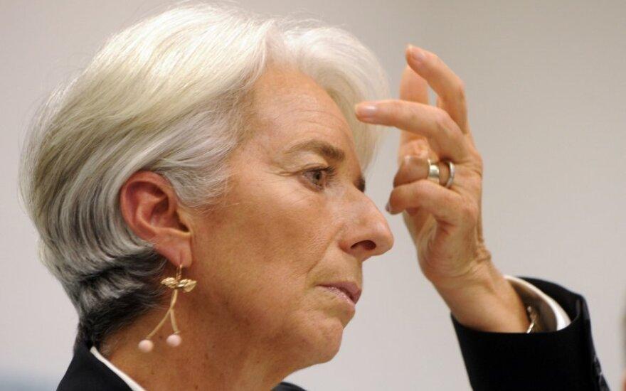 Глава МВФ Кристин Лагард прибыла на допрос в суд Парижа