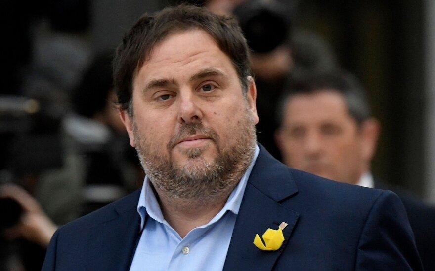 Осужденный каталонский политик Жункерас лишен мандата евродепутата