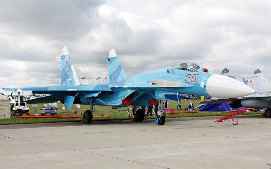 Во время ЧМ-2014 в небо над Минском поднимут истребители