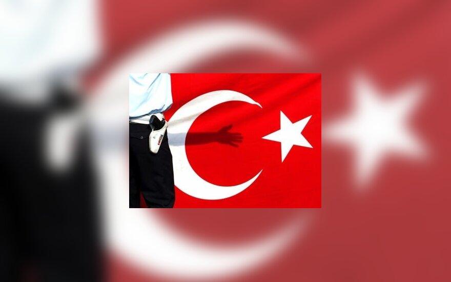 Turkija, vėliava