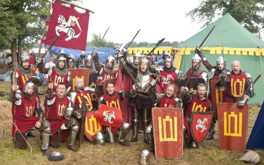 Garbės sargybos kuopos kariai kovėsi Griunvalde