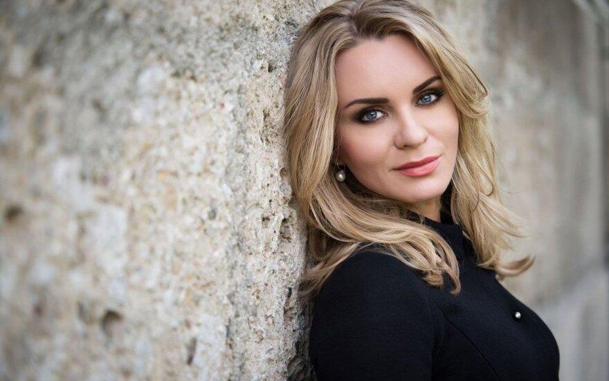 С концертом в Вильнюс возвращается известная оперная солистка Катерина Третьякова