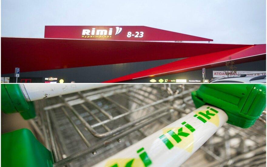 Совет по конкуренции Литвы приступает к рассмотрению объединения Rimi и Iki