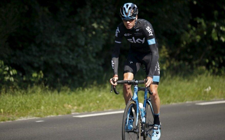 """Chrisas Froome'as - vienas """"Tour de France"""" favoritų"""