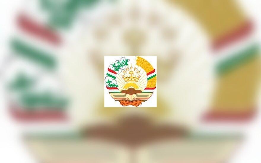 Tadžikistano herbas
