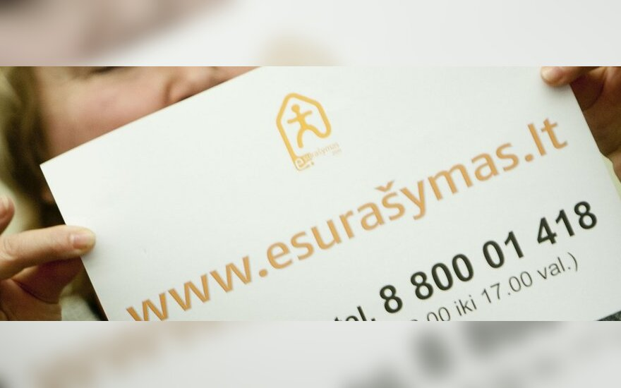 В переписи уже участвовало 11% жителей Литвы