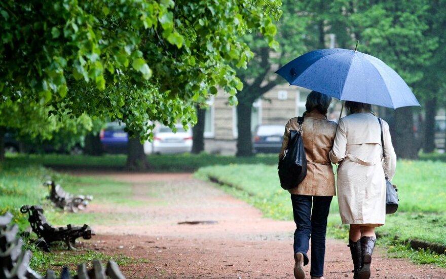 Ожидаются небольшие дожди, с четверга похолодает
