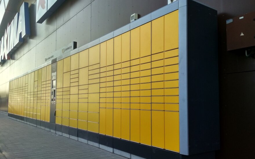 Naujas siuntų terminalas