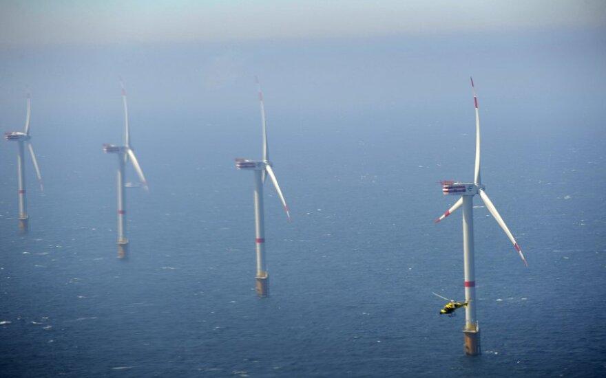 Установку ветряных мельниц в море одобряет больше половины литовцев