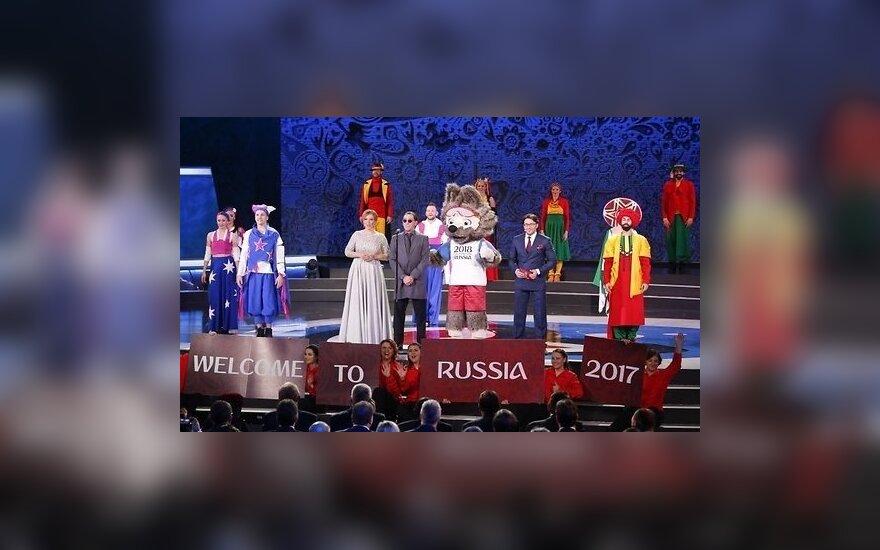 Прошла жеребьевка футбольного Кубка Конфедераций в России