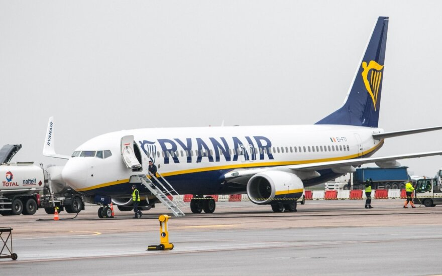 Компания Ryanair предложила еще два направления рейсов из Каунаса