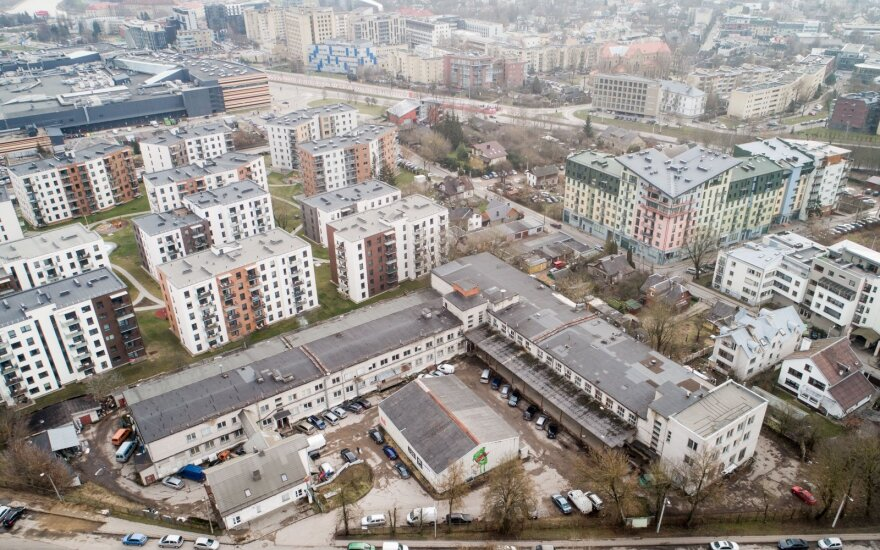 """Вильнюсцы обеспокоены: уникальный район хотят превратить в """"муравейник"""""""